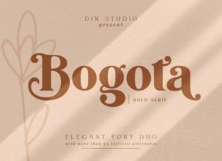 Bogota Font