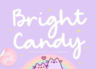 Bright Candy Font