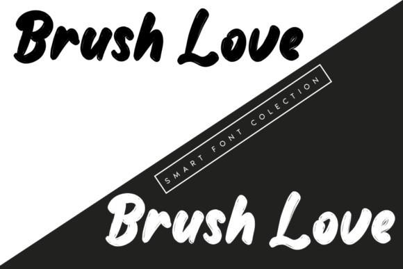 Brush Love Font