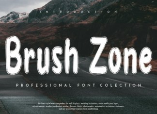 Brush Zone Font