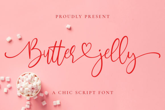 Butter Jelly Font