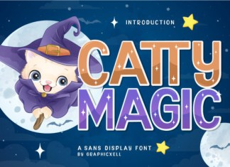 Catty Magic Font