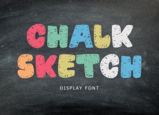 Chalk Sketch Font