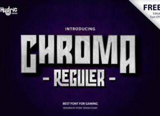 Chroma Font