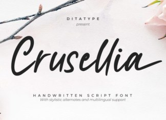 Crusselia Font