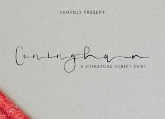 Cuningham Font
