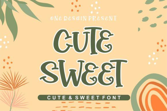 Cute Sweet Font
