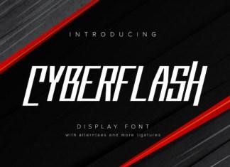 Cyberflash Font