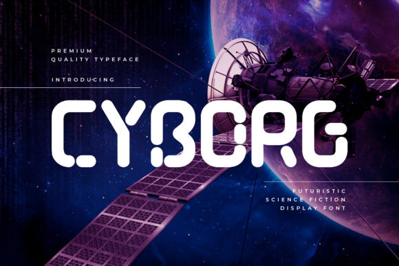 Cyborg Font