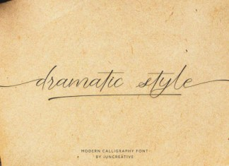 Dramatic Style Font