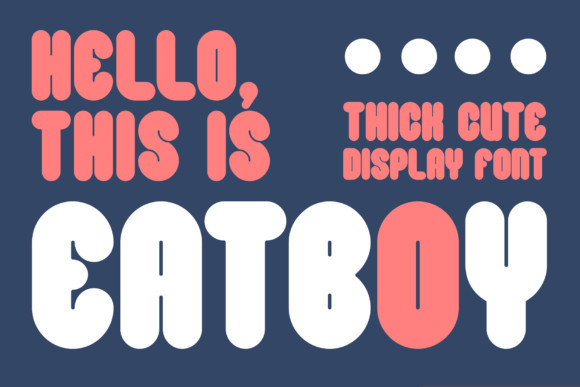 Eatboy Font