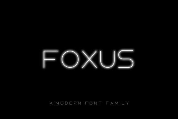 Foxus Font