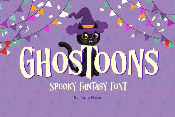 Ghostoons Font