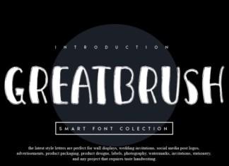 Greatbrush Font