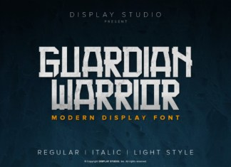 Guardian Warrior Font
