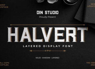 Halvert Font