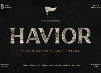 Havior FontHavior Font