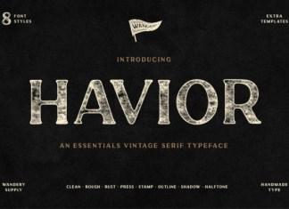 Havior FontHavior Font
