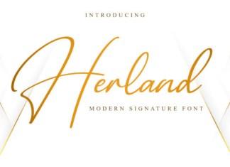 Herland Font