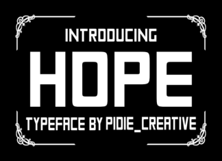 Hope Font