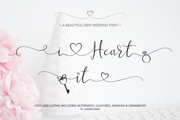 I Heart It Font