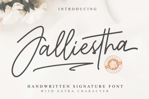 Jalliestha Font