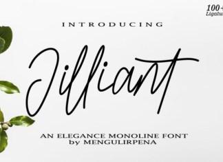 Jilliant Font