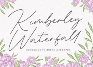 Kimberley Waterfall Font