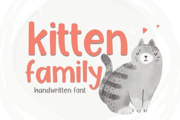 Kitten Family Font