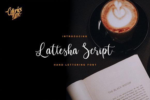 Lattesha Script Font