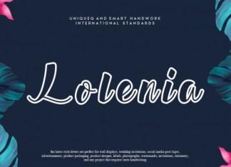 Lolenia Font
