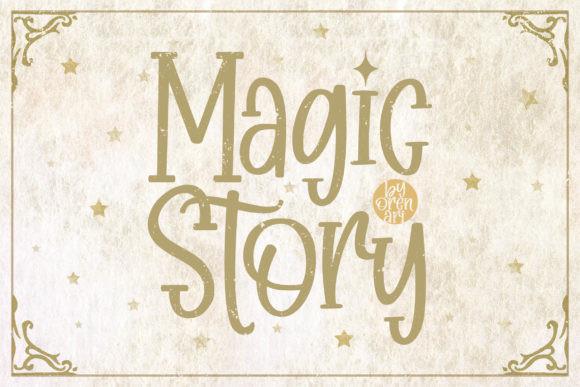 Magic Story Font