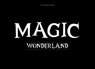 Magic Wonderland Font
