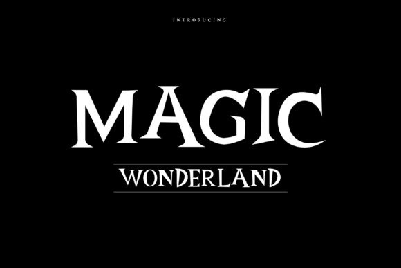 Magic Wonderland Font