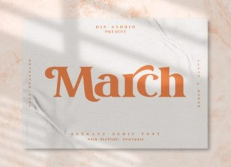 March Font