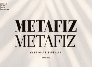Metafiz Font