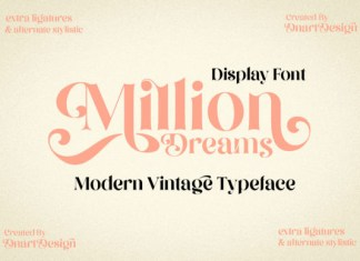 Million Dreams Font