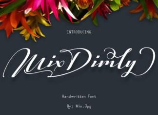 Mix Dimly Font