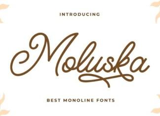 Moluska Font