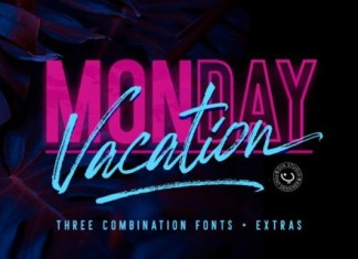 Monday Vacation Font