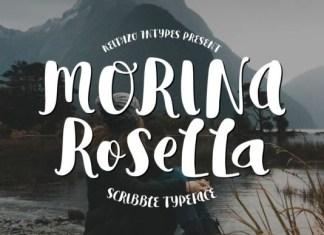Morina Rosella Font