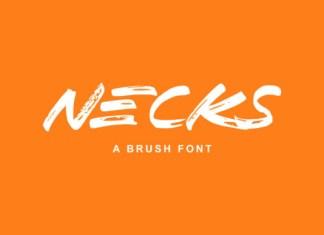 Necks Font