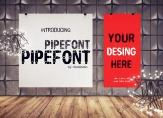 Pipefont Font
