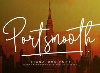 Portsmooth Font