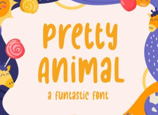 Pretty Animal Font