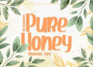 Pure Honey Font