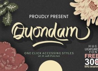 Quondam Font