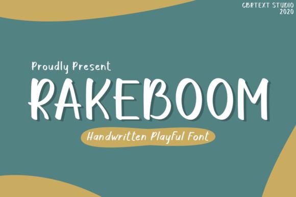 Rakeboom Font