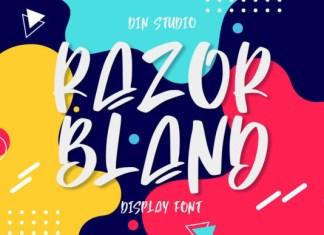Razor Bland Font