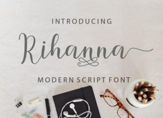 Rihanna Font